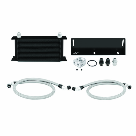Mishimoto Ford Mustang 5.0L Oil Cooler Kit, 1979-1993 Black
