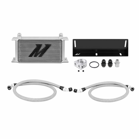 Mishimoto Ford Mustang 5.0L Oil Cooler Kit, 1979-1993 Silver
