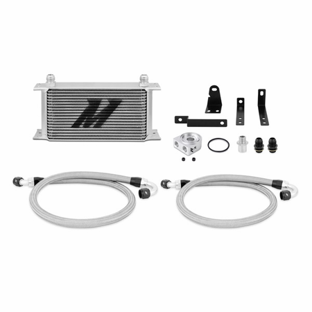 Mishimoto Honda S2000 Oil Cooler Kit, 2000-2009 Silver