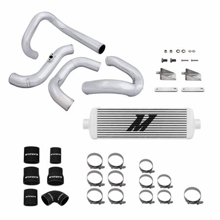 Mishimoto Hyundai Genesis Turbo Intercooler and Piping Kit, Race Edition, 2010-2012 Silver
