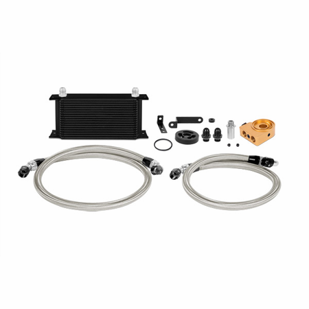 Mishimoto Subaru WRX Thermostatic Oil Cooler Kit, 2008+ Black