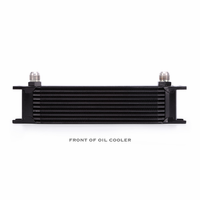 Mishimoto Universal 10-Row Oil Cooler Black