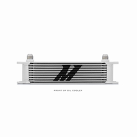 Mishimoto Universal 10-Row Oil Cooler Silver
