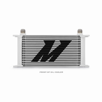 Mishimoto Universal 19-Row Oil Cooler Silver