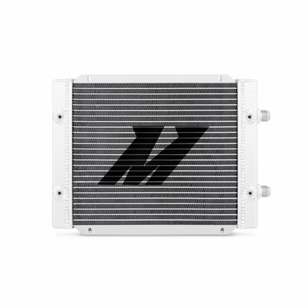 Mishimoto Universal 25-Row Dual Pass Oil Cooler Silver