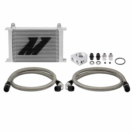 Mishimoto Universal Oil Cooler Kit, Silver, 25-Row