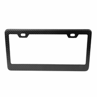 NRG Innovations Dry Carbon Fiber License Plate Frame