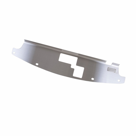 NRG Innovations Stainless Steel Air Diversion Panel - 05-07 Scion TC (w/ Vent For Hood Prop)