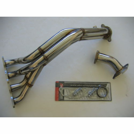 OBX Racing Sports SS Exhaust Manifold Header Acura RSX - Acura rsx type s headers