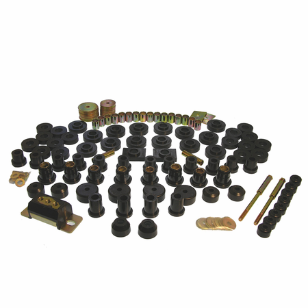Prothane Motion Control Total Kit Black 55-57 Chevrolet (Includes Motor Mounts)