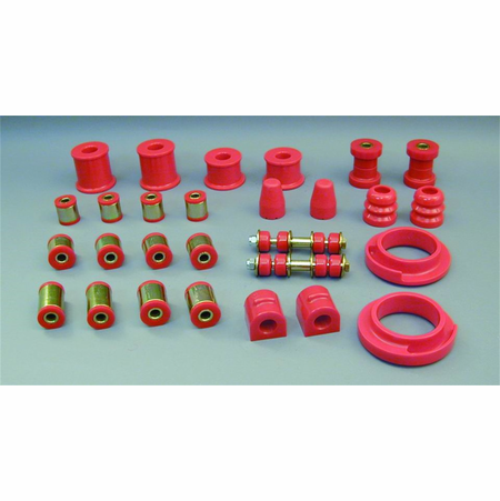 Prothane Motion Control Total Kit Red 00-06 Ford Focus/SVT