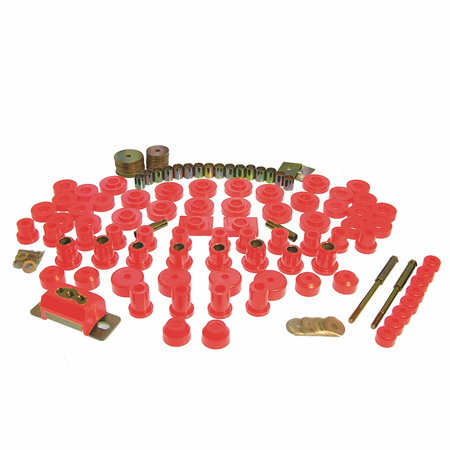 Prothane Motion Control Total Kit Red 55-57 Chevrolet (Includes Motor Mounts)