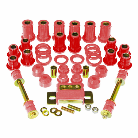 Prothane Motion Control Total Kit Red 59-64 Chevrolet Caprice / Impala