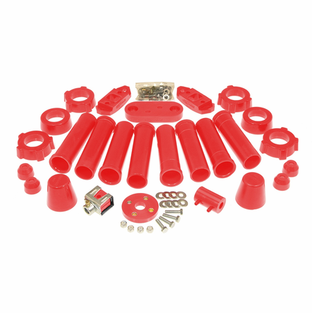 Prothane Motion Control Total Kit Red 59-65 Volkswagen Type I