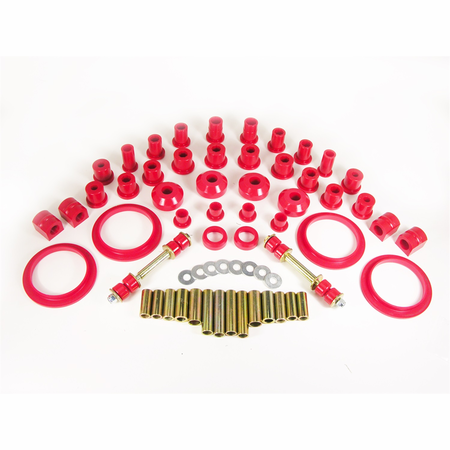 Prothane Motion Control Total Kit Red 64-69 AMC Mid Size