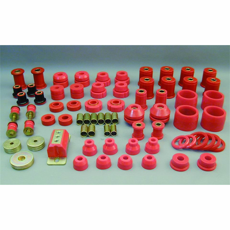 Prothane Motion Control Total Kit Red 65-70 Chevrolet Caprice / Impala