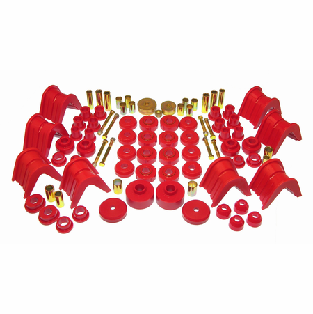 Prothane Motion Control Total Kit Red 66-77 Ford Bronco I