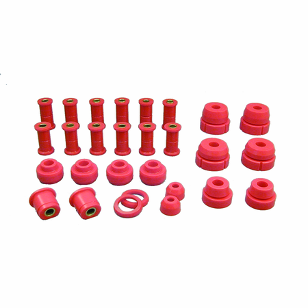 Prothane Motion Control Total Kit Red 66-79 Ford Full Size 2WD F100, F150