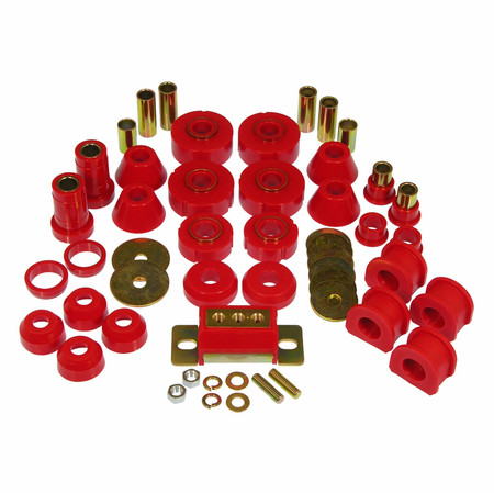 Prothane Motion Control Total Kit Red 67-72 Chevrolet/GM Full Size 2WD