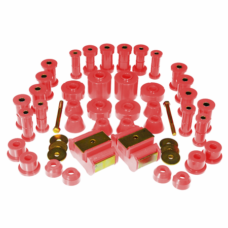 Prothane Motion Control Total Kit Red 73-80 Chevrolet/GM Full Size 4WD
