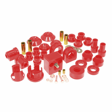 Prothane Motion Control Total Kit Red 75-84 Volkswagen Rabbit/Golf/Jetta