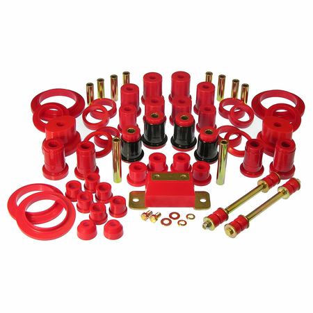 Prothane Motion Control Total Kit Red 79-82 Ford Mustang V8 (w/Trans. Mount*)