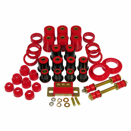 Prothane Motion Control Total Kit Red 80-90 Chevrolet Caprice / Impala