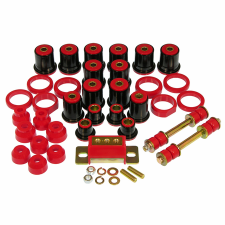 Prothane Motion Control Total Kit Red 82-04 Chevrolet/GM S10 Pickup 2WD Xtra Cab
