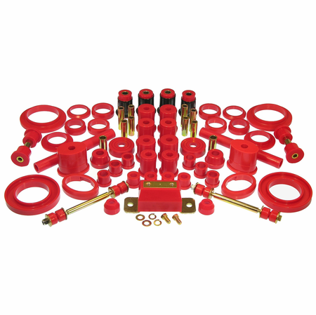 Prothane Motion Control Total Kit Red 83-84 Ford Mustang V8 (w/Trans. Mount*)