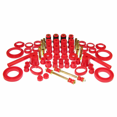 Prothane Motion Control Total Kit Red 83-84 Ford Mustang (w/o Trans. Mount)