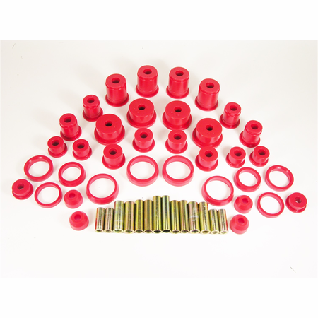 Prothane Motion Control Total Kit Red 84-01 Jeep Cherokee