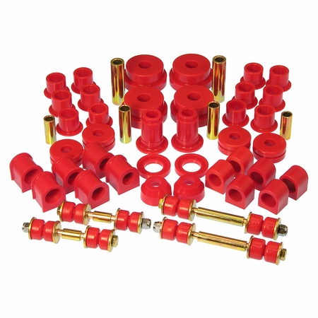 Prothane Motion Control Total Kit Red 84-89 Nissan 300ZX