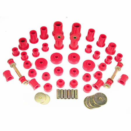 Prothane Motion Control Total Kit Red 86-88 Toyota 4WD
