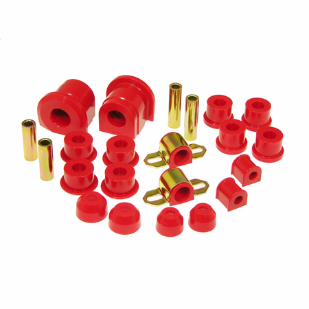 Prothane Motion Control Total Kit Red 86-91 Mazda RX-7