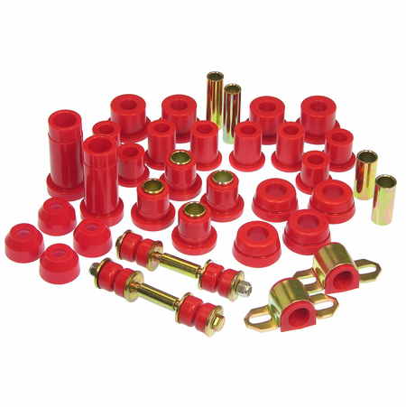 Prothane Motion Control Total Kit Red 89-94 Toyota 2WD