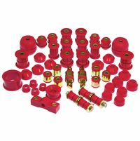 Prothane Motion Control Total Kit Red 90-93 Acura Integra (w/ All C-Arm Bushings)