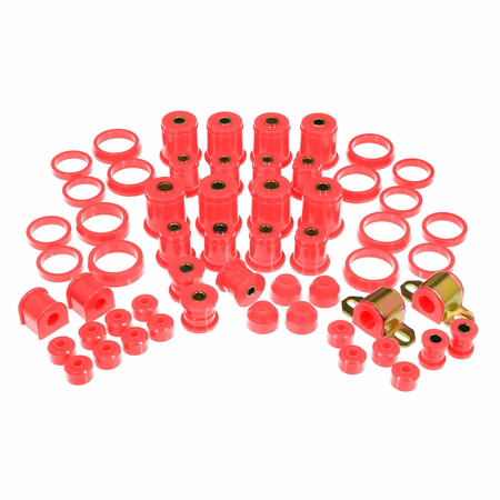 Prothane Motion Control Total Kit Red 93-98 Jeep Grand Cherokee