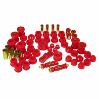 Prothane Motion Control Total Kit Red 94-01 Acura Integra (w/o Rr. Upper C-Arm Bush.)
