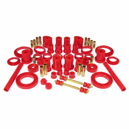 Prothane Motion Control Total Kit Red 94-98 Ford Mustang (w/o Trans. Mount)