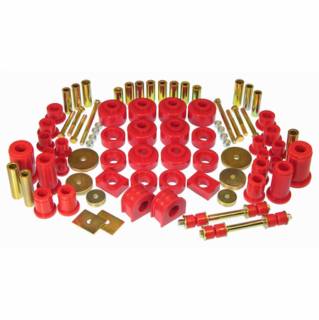 Prothane Motion Control Total Kit Red 97-03 Ford Full Size 2WD F150 (All Cabs)