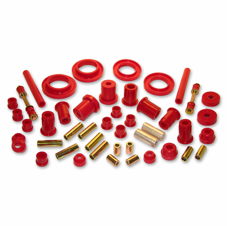Prothane Motion Control Total Kit Red 99-04 Ford Mustang Cobra