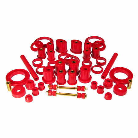 Prothane Motion Control Total Kit Red 99-04 Ford Mustang (Except Cobra)
