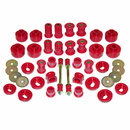 Prothane Motion Control Total Kit Red 99-06 Chevrolet/GM Full Size 2WD 1500 (All Cabs)