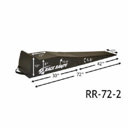 "Race Ramps 72"" 2-Stage Incline Ramps"