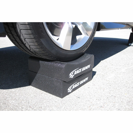 "Race Ramps Adjustable Height 8"" Wheel Cribs"
