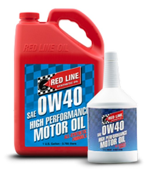 Red line 0w40 motor oil 5 gallon part number 11106 for Gallon of motor oil price