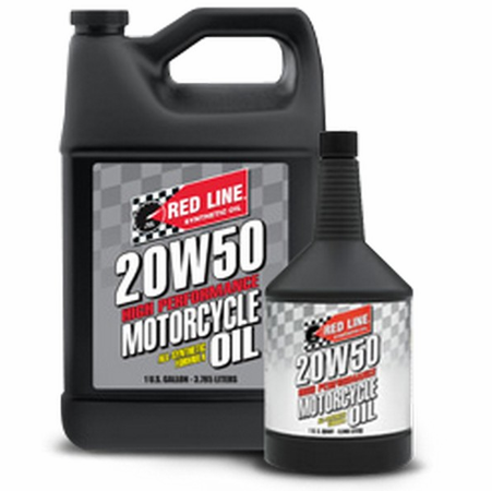 Red Line 20W50 Motorcycle Oil - 1 Gallon