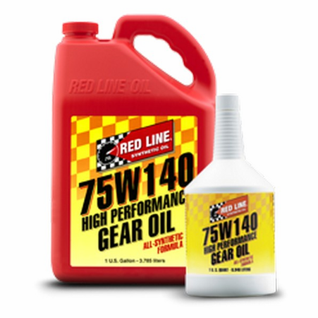 Red Line 75W140 GL-5 Gear Oil - 1 Gallon