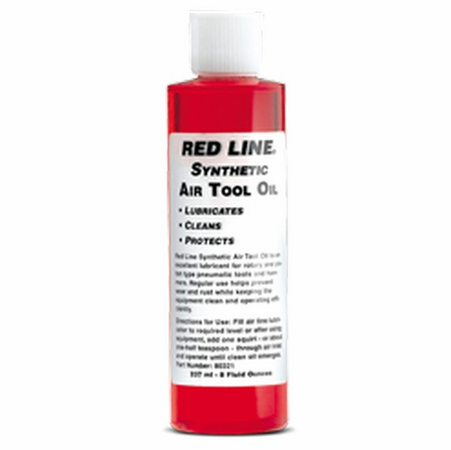 Red Line Air Tool Oil - 8 Ounce
