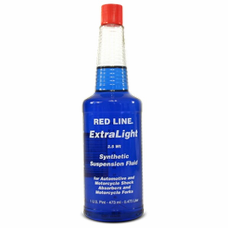 Red Line ExtraLight 2.5wt Suspension Fluid - 16 Ounce
